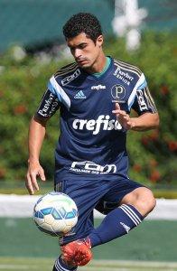 O camisa 66 negou que o longo tempo sem atuar o prejudicará nos próximos compromissos do time. (Cesar Greco/Ag. Palmeiras/Divulgação)