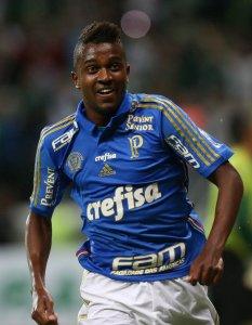 Na partida de ida contra o Sampaio Corrêa, no Maranhão, Kelvin foi titular. (Cesar Greco/Ag. Palmeiras/Divulgação)