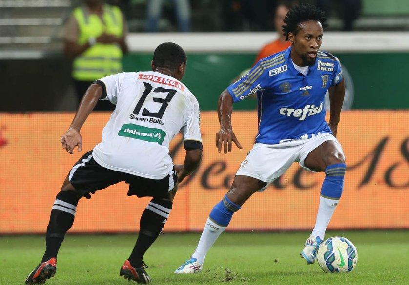 No Allianz Parque, Palmeiras e ASA ficaram no 0 a 0.(Cesar Greco/Ag. Palmeiras/Divulgação)