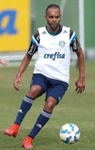 Alecsandro teve o seu primeiro contato com o elenco nesta quarta, 10. (Cesar Greco/Ag. Palmeiras/Divulgação)