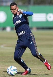 Jackson foi titular contra ASA-AL e Corinthians. (Cesar Greco/Ag. Palmeiras/Divulgação)