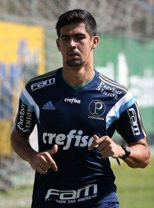 O novo reforço do Verdão trabalhou a parte física neste sábado, 27. (Cesar Greco/Ag. Palmeiras/Divulgação)