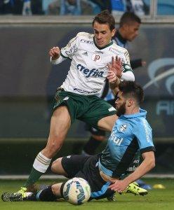 Lucas levou a braçadeira de capitão na partida deste sábado, 20. (Cesar Greco/Ag. Palmeiras/Divulgação)