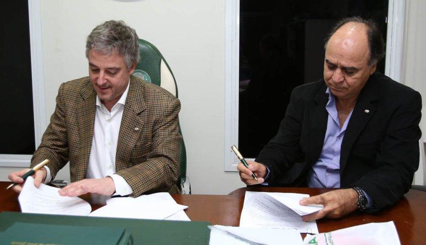 Marcelo assinou com o Verdão até o fim da temporada 2016. ((Cesar Greco/Ag. Palmeiras/Divulgação)