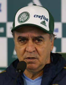 O técnico Marcelo Oliveira concedeu entrevista na Academia de Futebol nesta sexta (19). (Cesar Greco/Ag. Palmeiras/Divulgação)