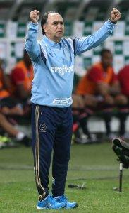 A concentração em Atibaia nesta semana deu resultado. (Cesar Greco/Ag. Palmeiras/Divulgação)