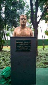 O ídolo Oberdan Cattani disputou 351 pelo Palestra Italia/Palmeiras entre as décadas de 40 e 50. (Mídia Palmeirense)
