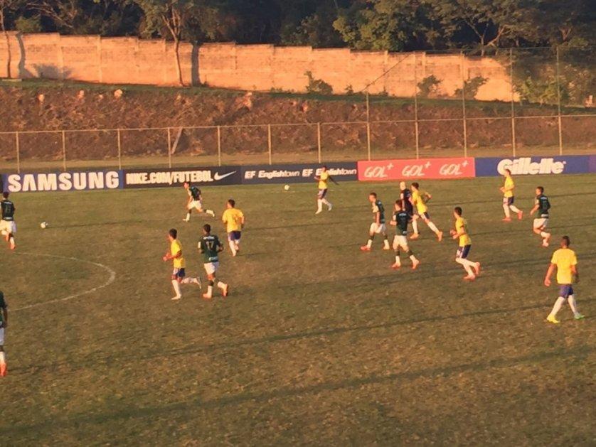 Palmeiras conquistou a vitória sobre a Seleção Brasileira nesta quarta-feira, 10. (Divulgação)