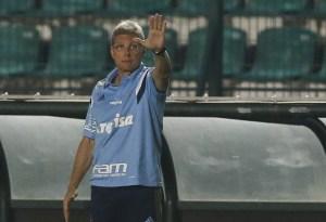 Após 6 partidas no Brasileiro, Oswaldo de Oliveira não é mais treinador do Palmeiras. (Cesar Greco/Ag. Palmeiras/Divulgação)