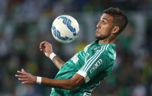 Rafael Marques teve noite de garçom, com duas assistências para gols de Dudu. (Cesar Greco/Ag. Palmeiras/Divulgação)