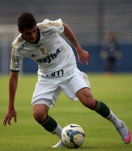 Gabriel Leite marcou um dos gols da vitória palmeirense. (Fabio Menotti/Ag. Palmeiras/Divulgação)