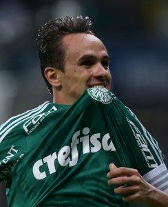 Lucas anotou o segundo gol do Verdão na partida. (Cesar Greco/Ag.Palmeiras/Divulgação)