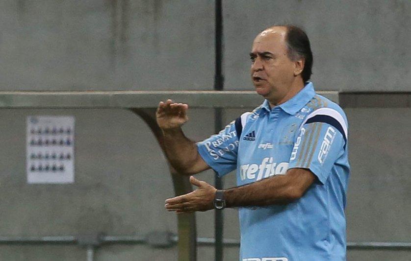Para o técnico Marcelo Oliveira o resultado foi 'absolutamente normal'. (Cesar Greco/Ag. Palmeiras/Divulgação)