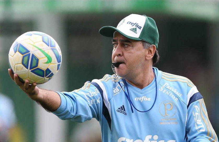 Palmeiras fez trabalhos táticos nesta sexta-feira (24) na Academia de Futebol. (Cesar Greco/Ag.Palmeiras/Divulgação)