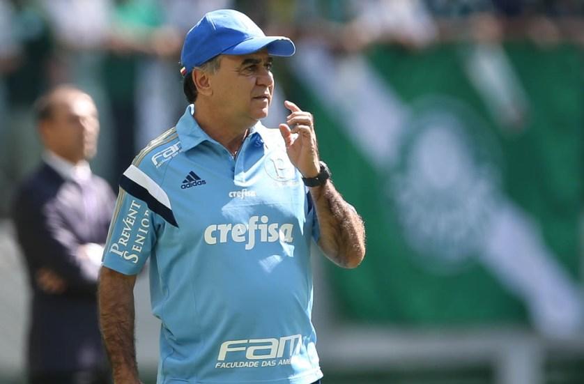 'Temos de ter uma atitude diferente', analisou o técnico Marcelo Oliveira após o revés contra o Atlético-PR. (Cesar Greco/Ag. Palmeiras/Divulgação)