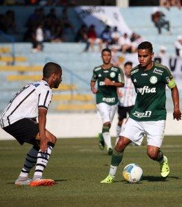 Palmeiras e Corinthians não tiraram placar do zero neste sábado (22). (Fabio Menotti/Ag.Palmeiras/Divulgação)