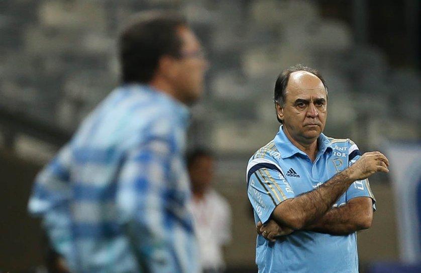 Depois da classificação, Marcelo Oliveira exaltou a força do elenco palmeirense. (Cesar Greco/Ag. Palmeiras/Divulgação)