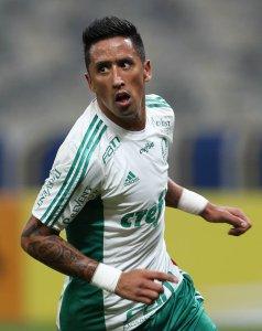 Com 3 gols de Barrios, Palmeiras goleou tricolor carioca no Maracanã e colou no G4. (Cesar Greco/Ag.Palmeiras/Divulgação)