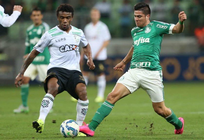 Palmeiras venceu a equipe de Santa Catarina por 2 a 0. (Cesar Greco/Ag. Palmeiras/Divulgação)