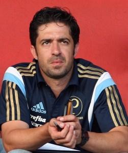 João Burse trabalhou nas categorias de base do Mogi Mirim e do Vitória. (Fabio Menotti/Ag. Palmeiras/Divulgação)