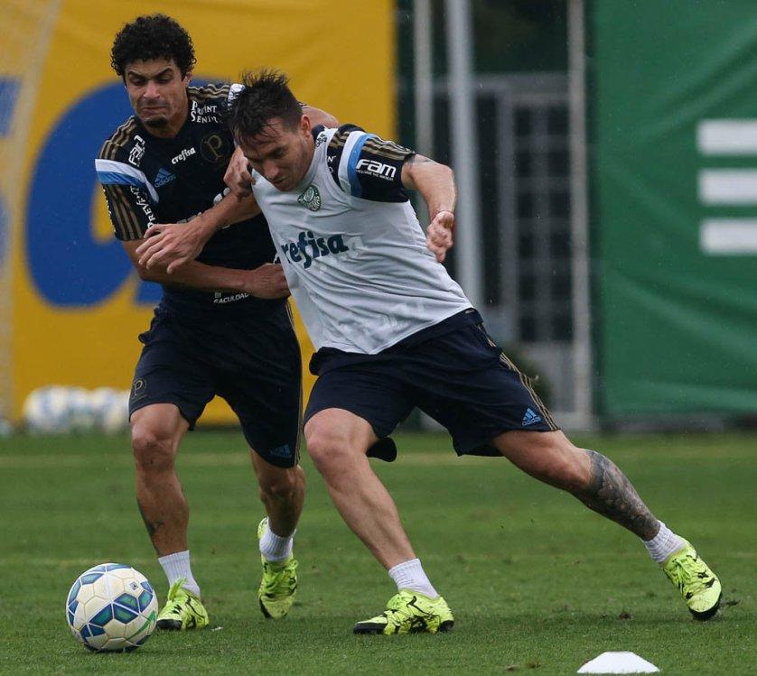 Após título da Copa do Brasil, Palmeiras iniciou preparação para última partida da temporada. (Cesar Greco/Ag.Palmeiras/Divulgação)
