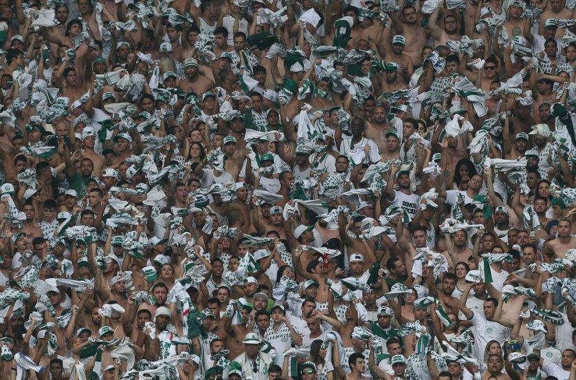 Em pouco mais de 24 horas, torcida palestrina esgota ingressos para os dois jogos das finais da Copa do Brasil. (Cesar Greco/Ag. Palmeiras/Divulgação)