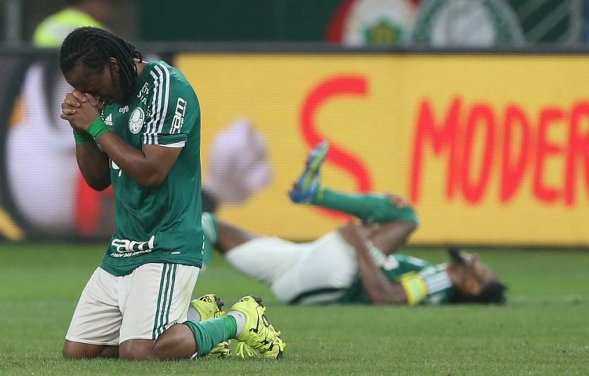 Fundamental na conquista da Copa do Brasil, Arouca fez 40 jogos pelo Verdão em 2015. (Cesar Greco/Ag.Palmeiras/Divulgação)