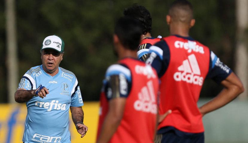 Verdão segue preparação para partida contra a Ponte Preta. (Cesar Greco/Ag.Palmeiras/Divulgação)