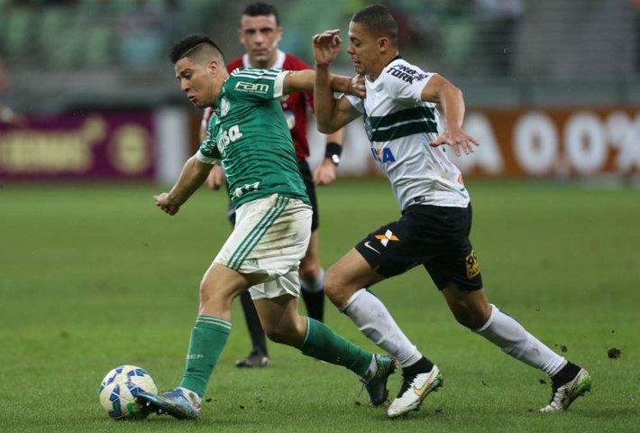 Cristaldo foi o destaque do Verdão no segundo tempo. (Cesar Greco/Ag. Palmeiras/Divulgação)