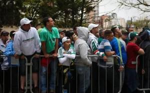 Ingressos para a torcida palmeirense na final da Copa do Brasil começam a ser vendidos na próxima semana.(Zanone Fraissat / Folhapress)