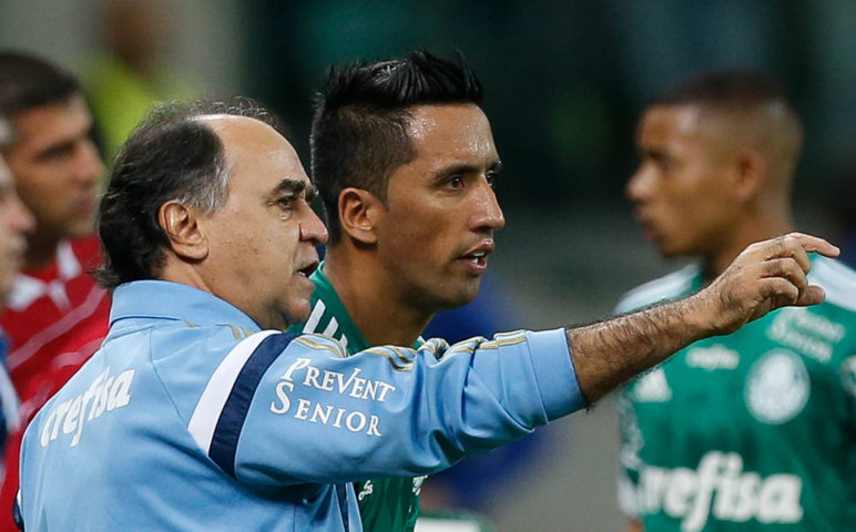 Marcelo Oliveira disputará primeira final à frente do Verdão na próxima quarta-feira (25). (Cesar Greco/Ag.Palmeiras/Divulgação)