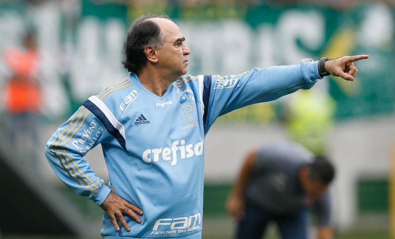 'Perdemos de forma frustrante, o torcedor tem todo direito de cobrar', disse Marcelo Oliveira após revés contra Vasco. (Cesar Greco/Ag. Palmeiras/Divulgação)