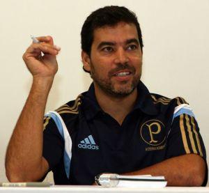João Paulo Sampaio coordena as categorias de base do Palmeiras desde o início de 2015. (Fabio Menotti/Ag. Palmeiras/Divulgação)