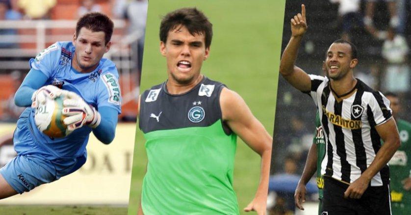 Vagner, Roger Carvalho e Rodrigo chegam ao Verdão para 2016.