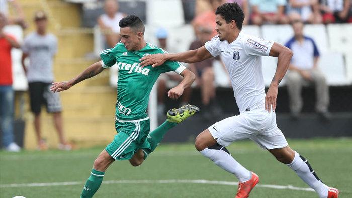 O Verdão estreia na Copa Ipiranga Sub-20 amanhã (08), contra o Vasco. (Cesar Greco/Ag. Palmeiras/Divulgação)