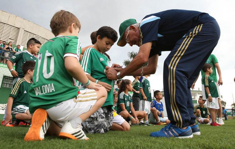 Avanti dá vantagens aos pais palmeirenses no retorno dos filhos às aulas. (Cesar Greco/Ag. Palmeiras/Divulgação)