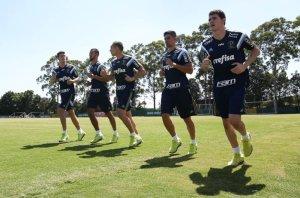 Depois dos trabalhos, o elenco seguiu para Itu-SP, onde ficará em regime de concentração até o dia 16. (Cesar Greco/Ag Palmeiras/Divulgação)