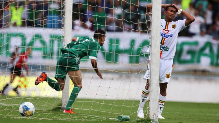 Na primeira fase da competição, Palmeiras e Sampaio Corrêa empataram em 2 a 2. (Fabio Menotti/Ag. Palmeiras/Divulgação)