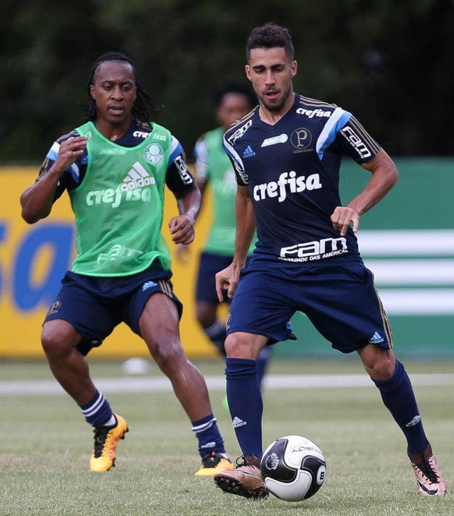 Arouca atuou na quinta (25), em Piracicaba-SP, e treinou nesta sexta (26). (Cesar Greco/Ag.Palmeiras/Divulgação)