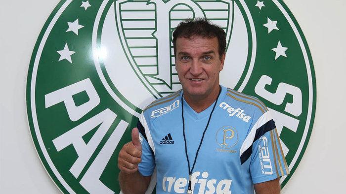Cuca assinou contrato com o Verdão até nesta segunda-feira (14). (Fabio Menotti/Ag. Palmeiras/Divulgação)