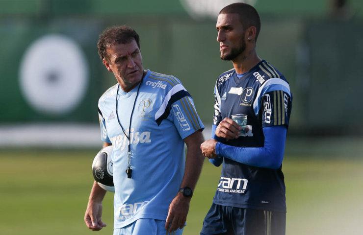 O período de concentração em Atibaia pode ser decisivo, segundo Rafael Marques. (Cesar Greco/Ag.Palmeiras/Divulgação)
