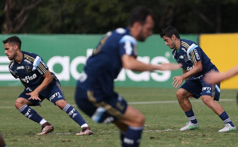 Verdão finalizou na tarde deste sábado (19), a preparação para enfrentar o Grêmio Osasco Audax.  (Cesar Greco/Ag. Palmeiras/Divulgação)