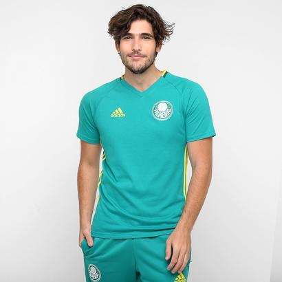 A nova camisa verde de treino do Palmeiras. Preço R$ 149,99 ou em até 5x de R$ 30,00. (Divulgação)