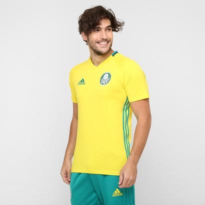 A nova camisa amarela de treino do Palmeiras. Preço R$ 149,99 ou em até 5x de R$ 30,00. (Divulgação)
