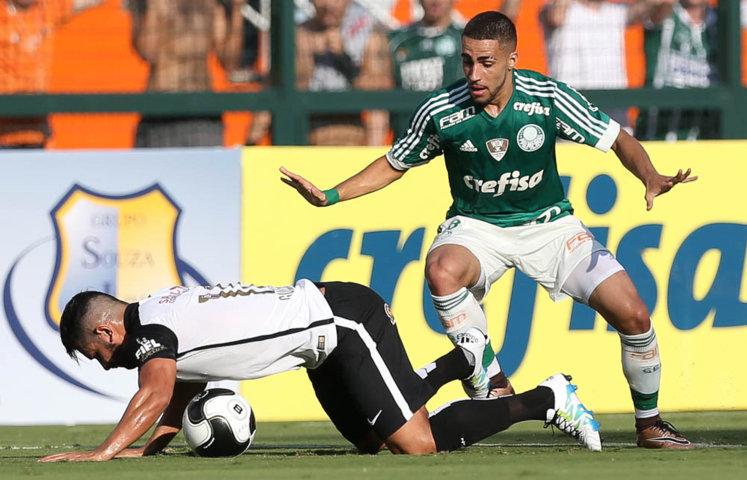 O Verdão foi superior durante toda a partida e venceu o duelo por 1 a 0. (Cesar Greco/Ag. Palmeiras/Divulgação)