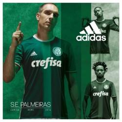 Compre a nova camisa home do Palmeiras para 2016