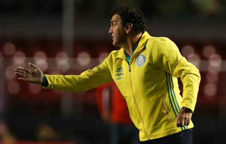 Cuca sofreu seu primeiro revés em clássicos à frente do Verdão. (Cesar Greco/Ag.Palmeiras/Divulgação)
