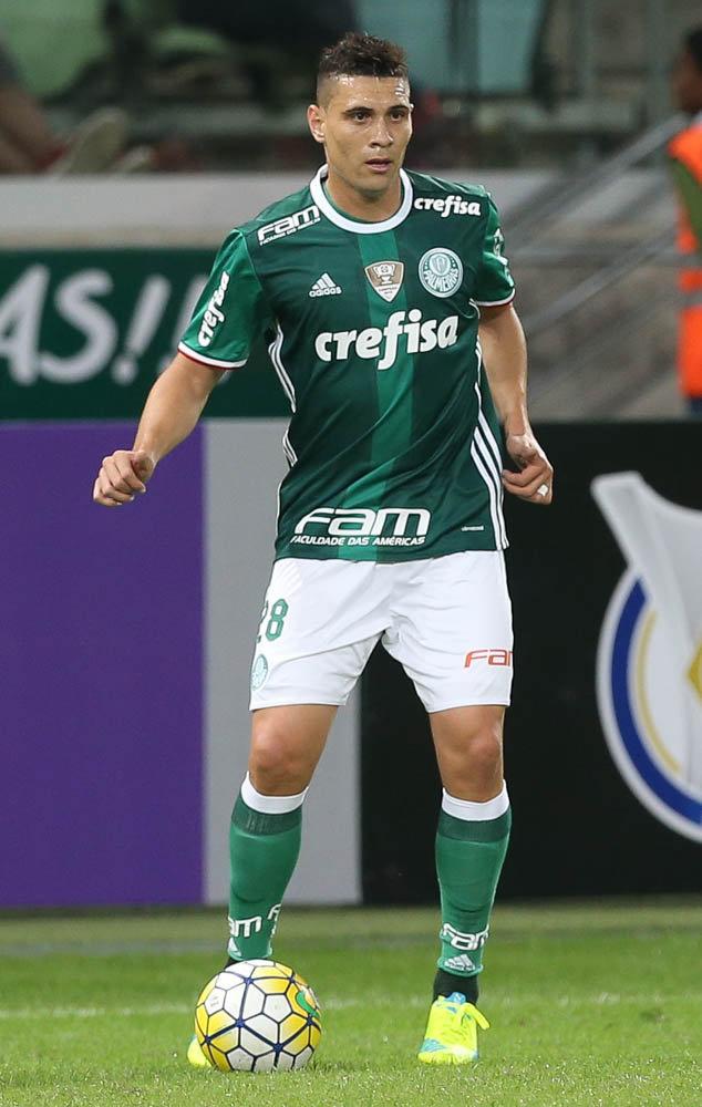 Moisés marcou o único gol do Palmeiras em Campinas, neste domingo (21). (Cesar Greco/Ag. Palmeiras/Divulgação)