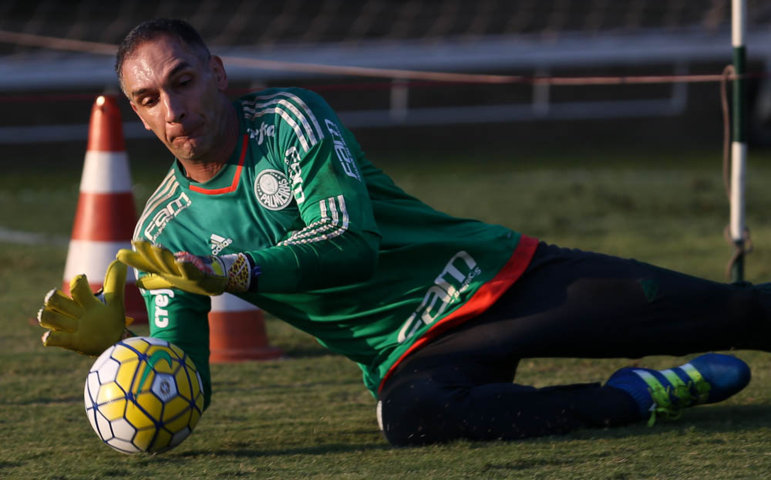 Verdão realizou treino técnico na manhã desta quarta-feira (04), na Academia de Futebol. (Cesar Greco/Ag Palmeiras/Divulgação)