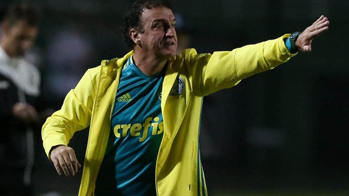 Cuca alcançou sexta vitória consecutiva como mandante no comando do Verdão. (Cesar Greco/Ag.Palmeiras/Divulgação)